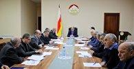 Совещание в правительстве Южной Осетии