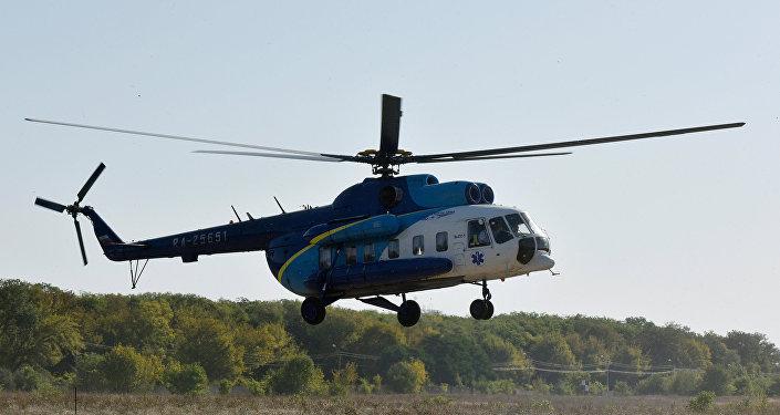 Специализированный вертолет Ми-8