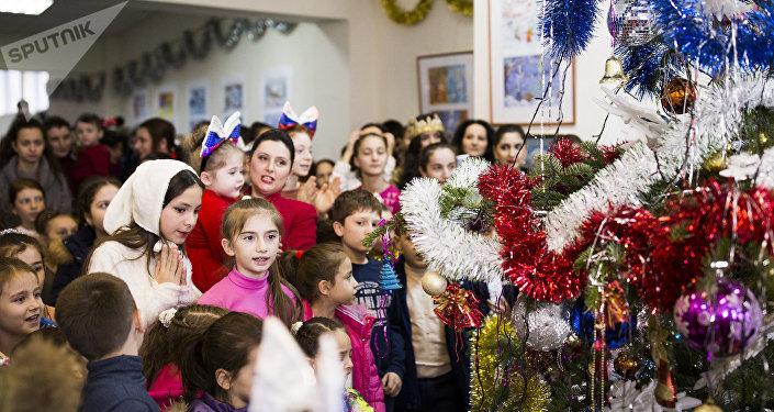 Новогоднее представление в Чермене