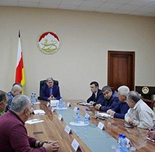 Оперативное совещание в правительстве РЮО