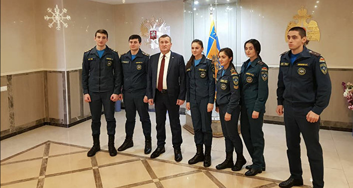 Алан Тадтаев посетил Академию государственной противопожарной службы МЧС РФ