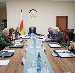 Заседание правительства Южной Осетии