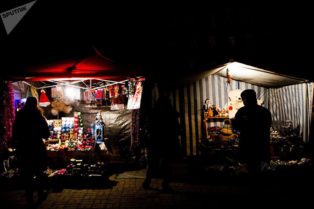Новый год в Южной Осетии