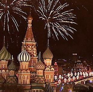 Новый год шагает по планете: видео со всей уголков земли