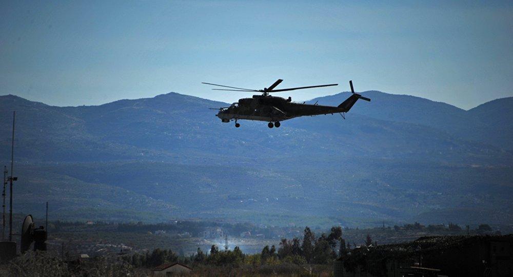 Стала известна причина крушения русского вертолета вСирии