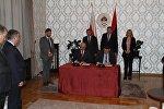 Подписание соглашения между Южной Осетией и Республикой Сербской