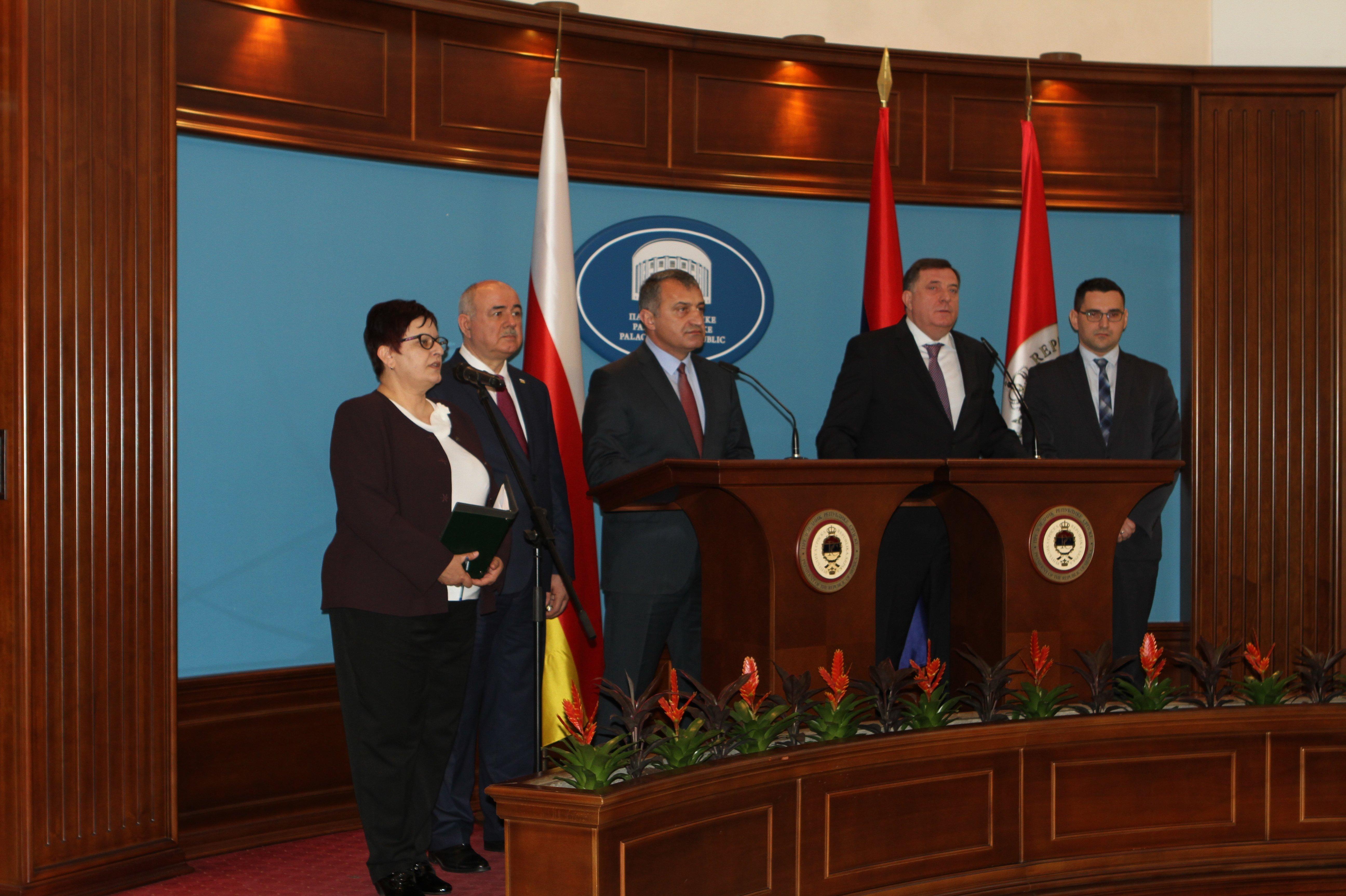 Визит президента Южной Осетии в Республику Сербскую