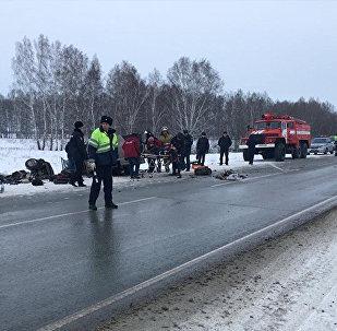 После ДТП в Новосибирской области в реанимацию попала девочка