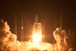Запуск ракеты-носителя Великий поход-5