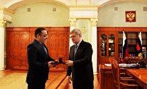 Знауру Гассиеву вручена высшая награда Прокуратуры России