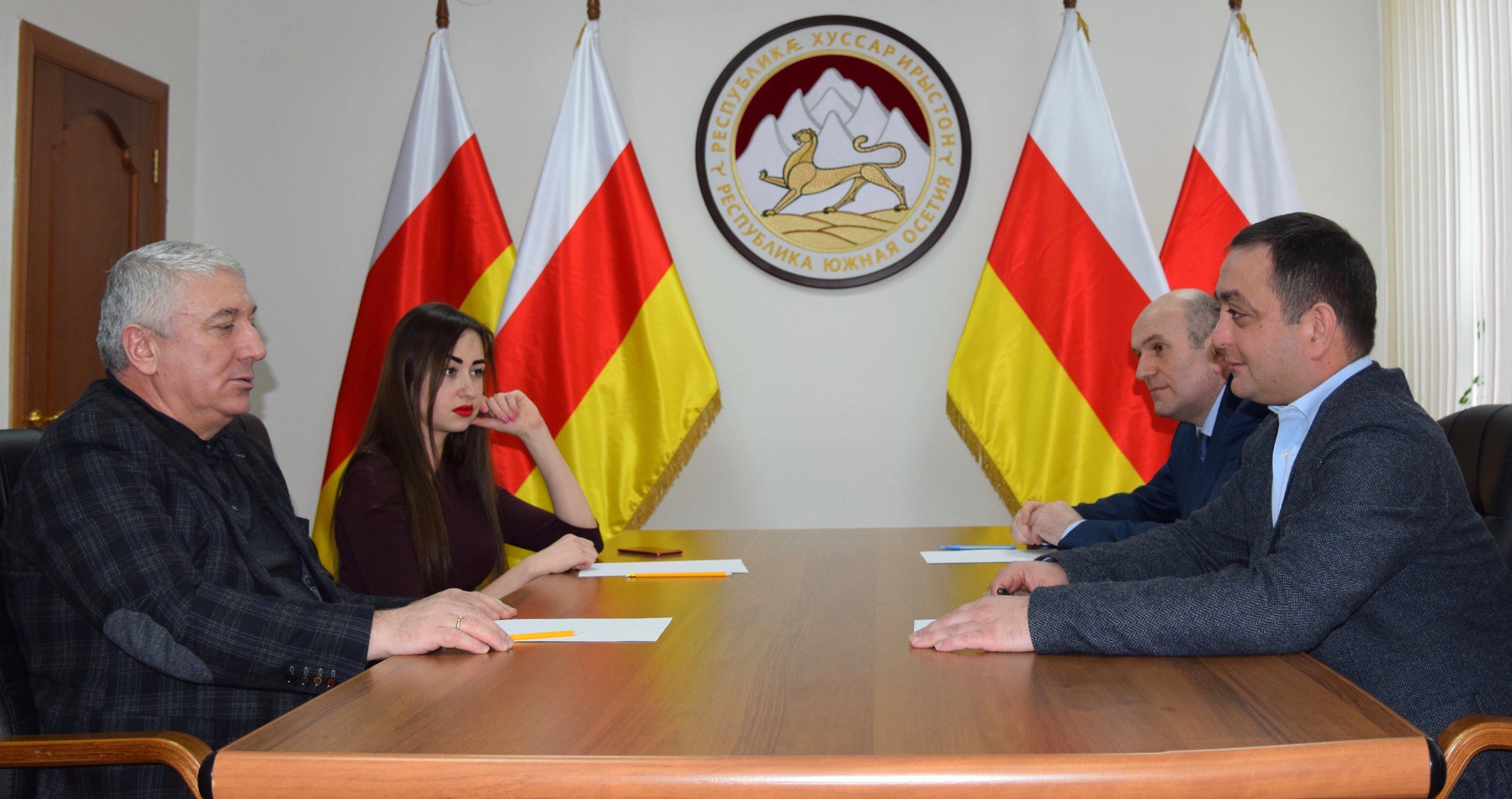 Встреча в посольстве Южной Осетии в России