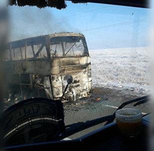 Казахстаны трассæйыл 50 адæймагæй фылдæр басыгъдысты автобусы