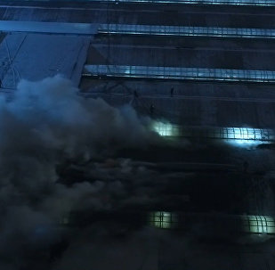 Пожарные потушили возгорание на рынке Садовод в Москве