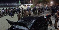 В Бразилии восьмимесячный ребенок погиб в результате наезда машины на людей