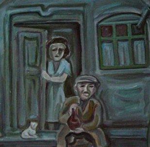Еврейский квартал. Работа Хсара Гассиева