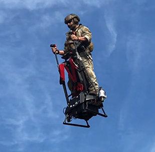 Французская компания испытала летающий сегвей