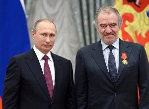 Владимир Путин æмæ Гергиты Валерий