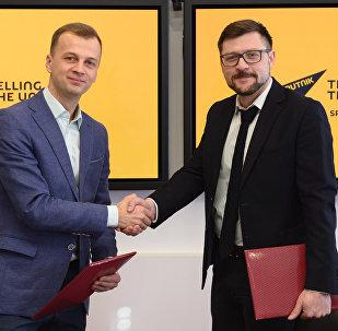 Sputnik и Дирекция II Европейских игр подписали соглашение об информационном сотрудничестве
