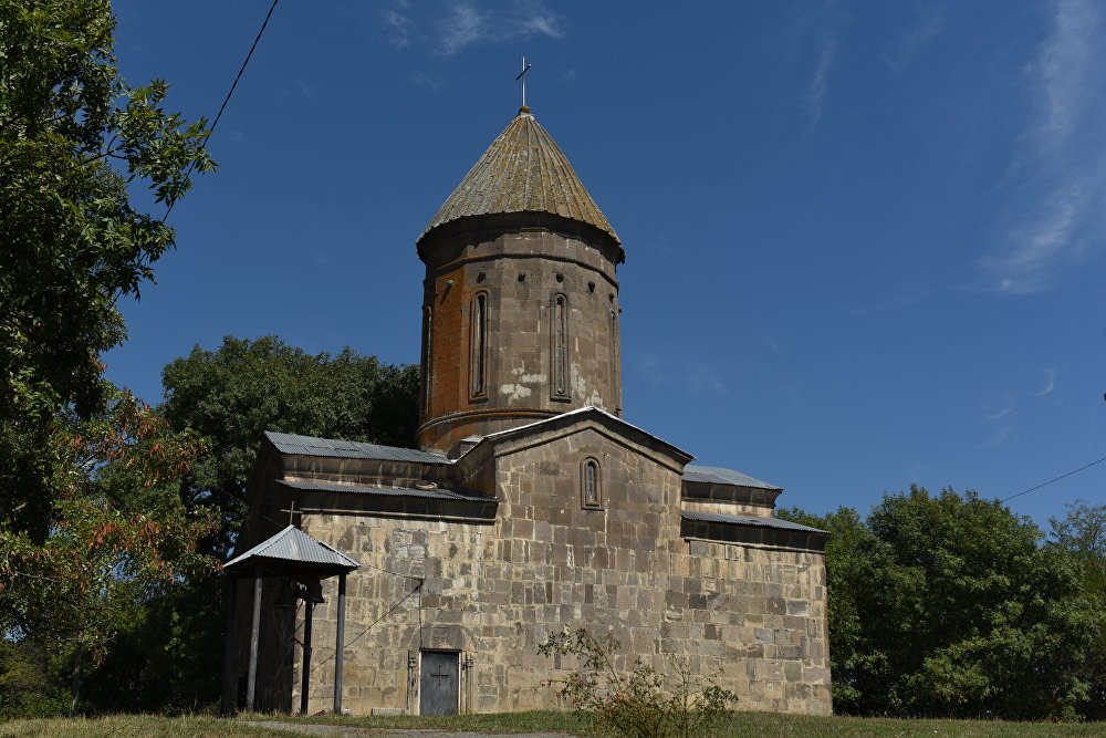 Храм Пресвятой Богородицы в селе Цунар