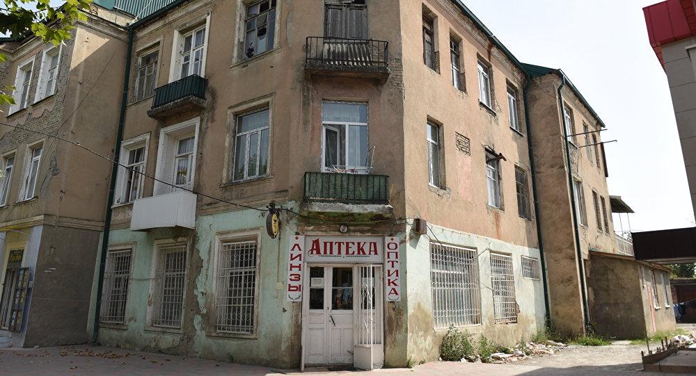 Аварийный дом на И.Харебова