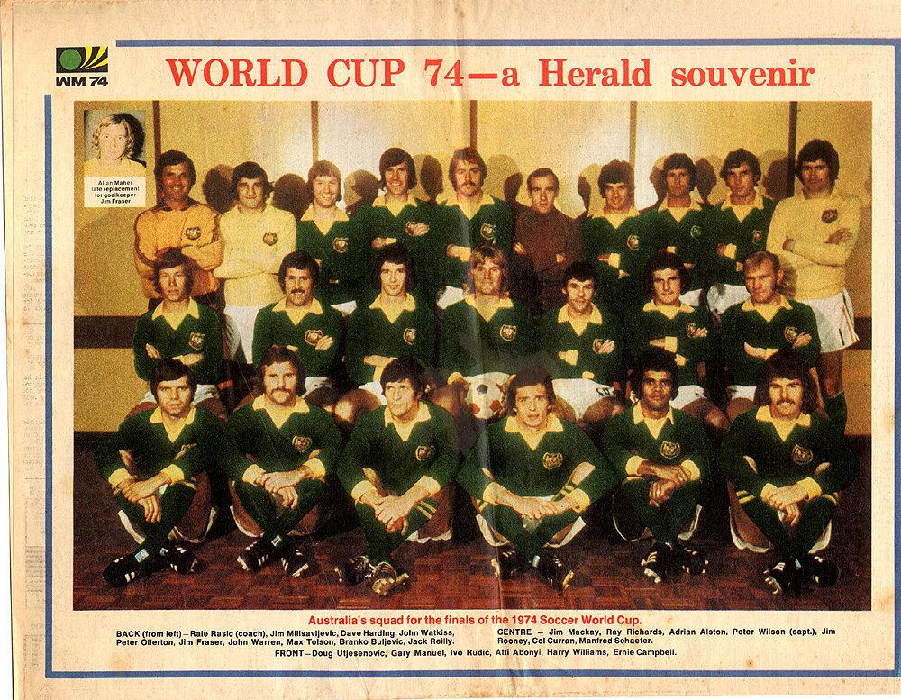 Сборная Австралии образца 1974 года