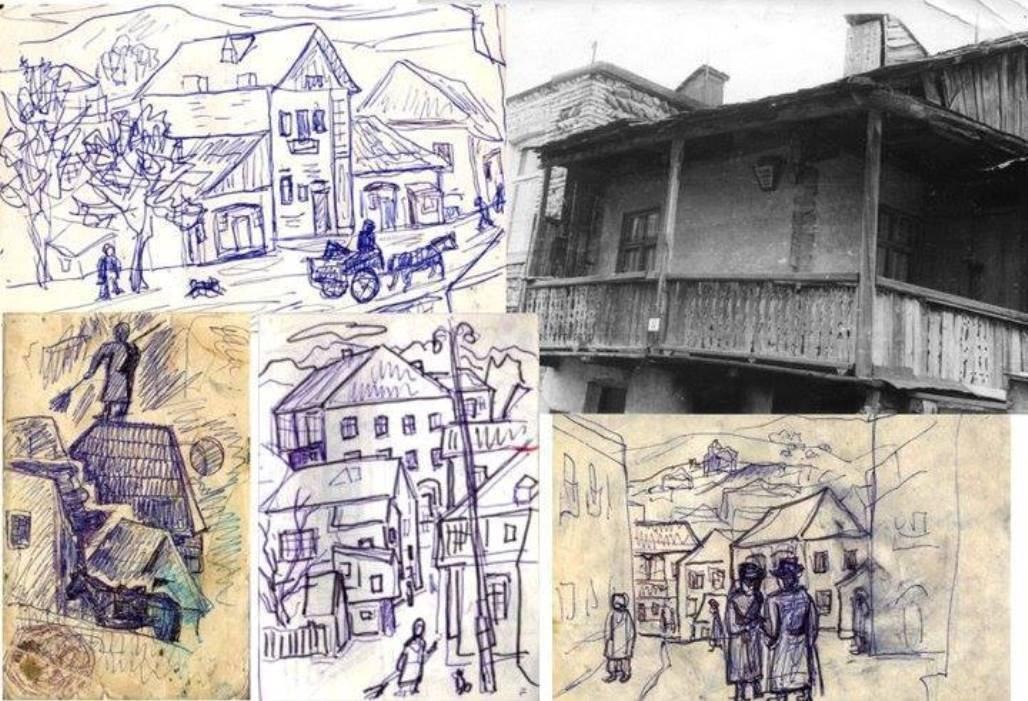 Еврейский квартал в Цхинвале