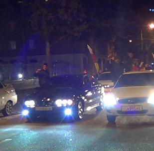В Цхинвале радуются победе Мурата Гассиева
