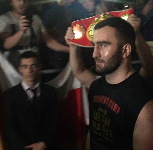 Iron снова не подвел: как болельщики поддерживали Гассиева в Сочи