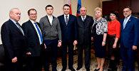 Леонид Пасечник принял делегацию Республики Южная Осетия – государство Алания
