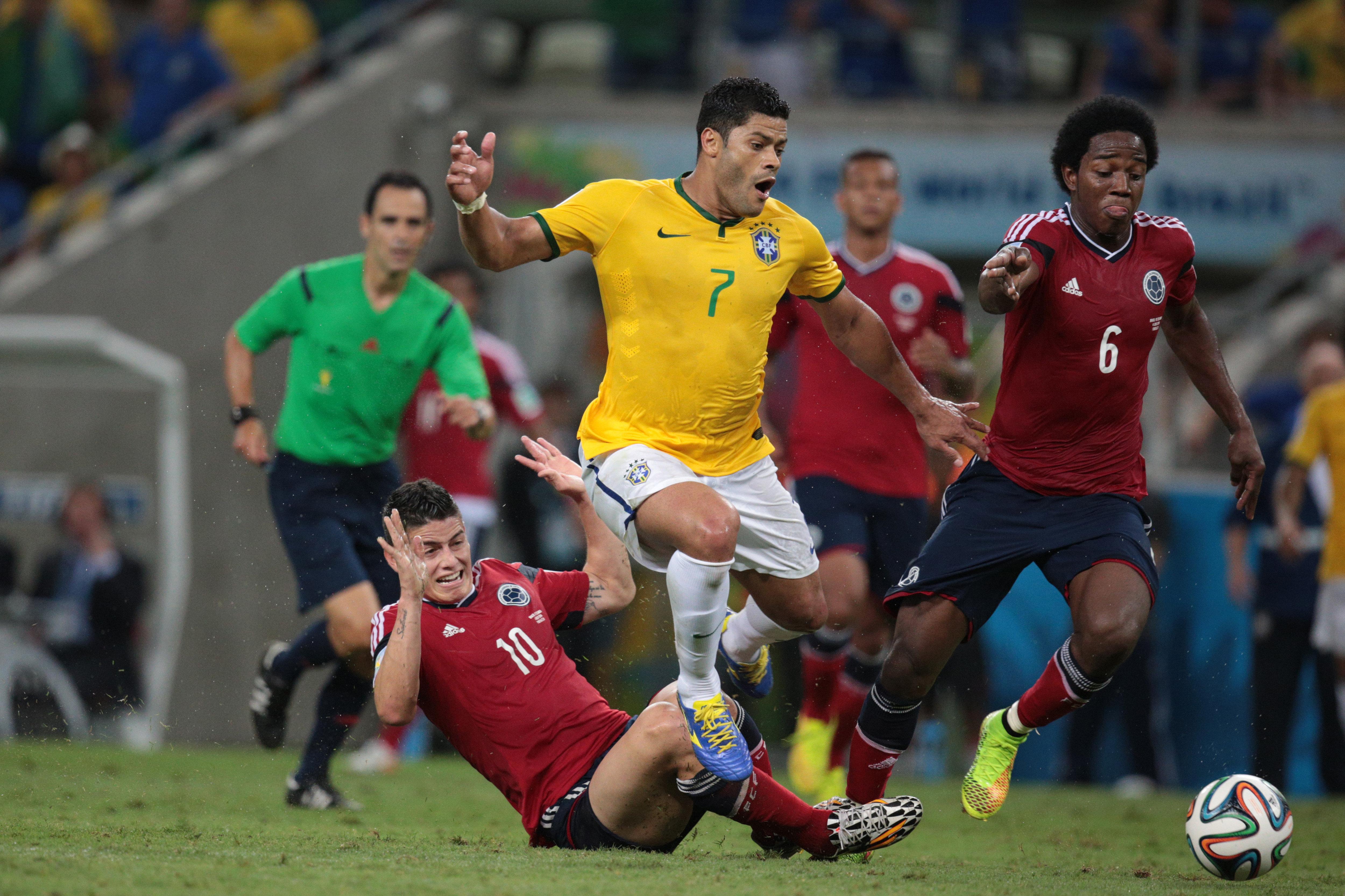 Экс-игрок санкт-петербургского Зенита и сборной Бразилии – один из тех, кто оставил сборную Колумбии без полуфинала на ЧМ-2014