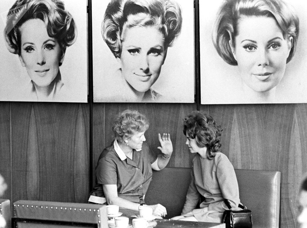 Салон красоты Чародейка в Москве, 1974 год