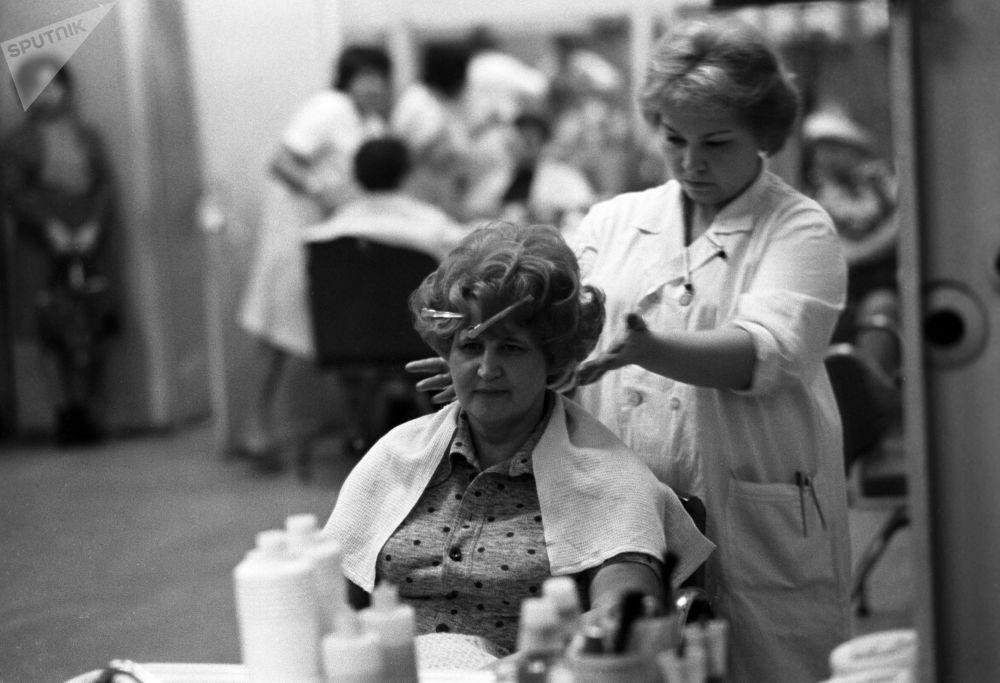 В одной из парикмахерских Москвы