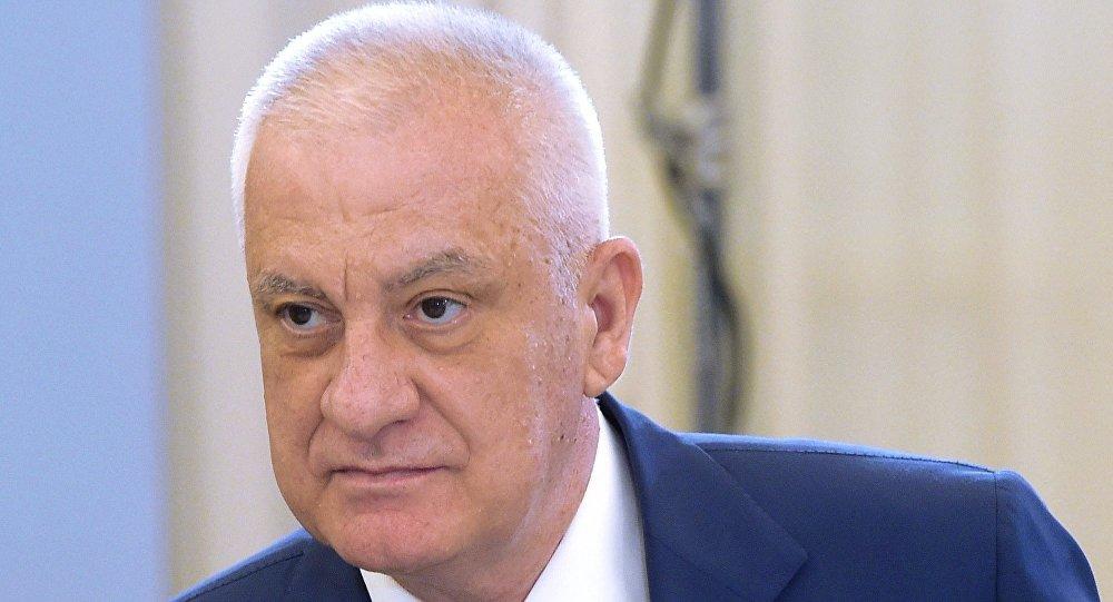 Временно исполняющий обязанности главы Республики Северная Осетия — Алания Тамерлан Агузаров