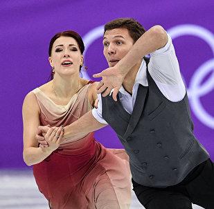 Олимпиада 2018. Фигурное катание. Команды. Танцы. Произвольная программа