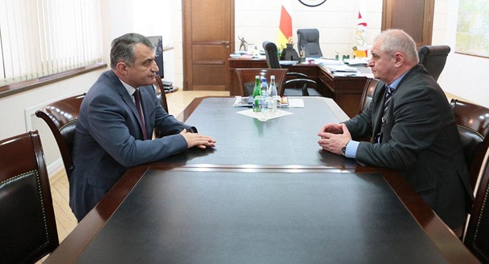 Встреча с Министром экономического развития Геннадием Кокоевым