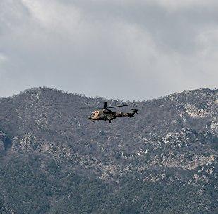 турецкий вертолет