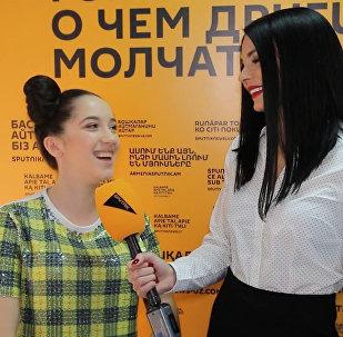 Участница проекта Ты супер! Лана Плиева готовится к выходу на сцену
