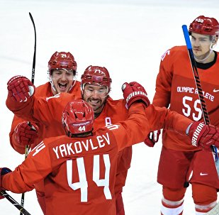 Олимпиада 2018. Хоккей. Мужчины. Матч Россия - Словения