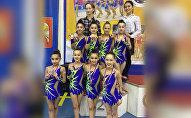 Гимнастки из Южной Осетии завоевали серебро на турнире в Нальчике