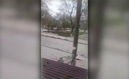 Стрельба на Масленице в Кизляре