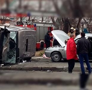 Авария во Владикавказе