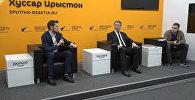Смотрите на видео кадры пресс-конференции с генеральным секретарем ConIFA Сашей Дюркопом