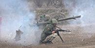 Условный противник и президентская стрельба: как воевали на полигоне Дзарцем
