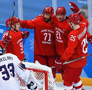Олимпиада 2018. Хоккей. Мужчины. Матч Россия - Норвегия