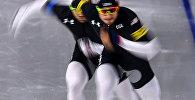 Олимпиада 2018. Конькобежный спорт. Мужчины. Командная гонка. Квалификация