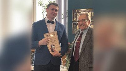 Александр Пантелеев стал лауреатом всероссийской премии Инженер года