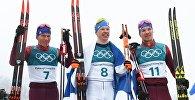 Олимпиада 2018. Лыжные гонки. Мужчины. Масс-старт. 50 км
