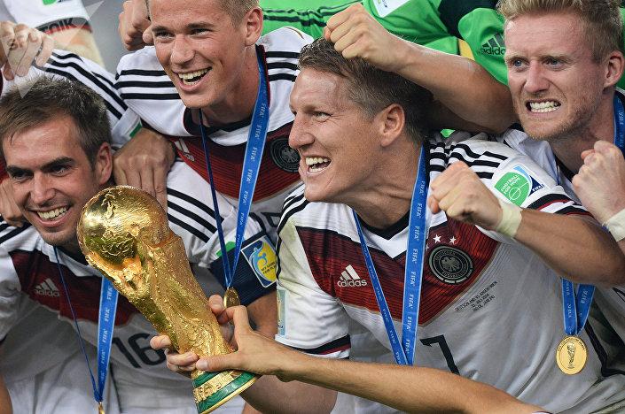 Национальная команда Германии – действующие чемпионы мира.