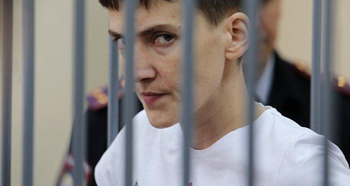 Рассмотрение жалобы на арест Надежды Савченко