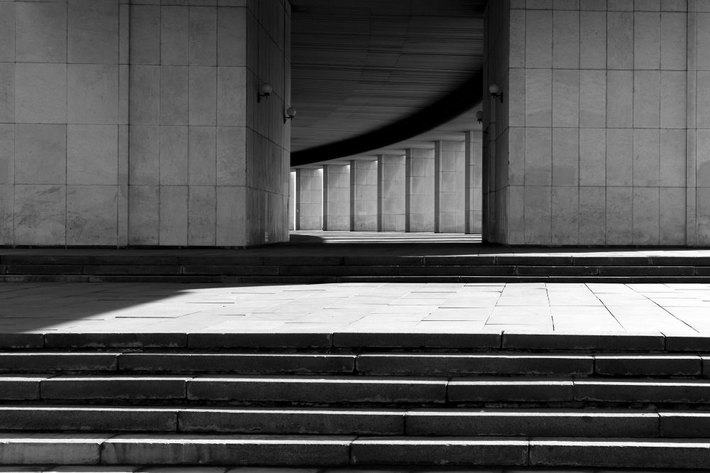 Снимок Victory Park российского фотографа Mikhail Zamkovskiy из категории Architecture (Professional competition), вошедший в шортлист фотоконкурса 2018 Sony World Photography Awards